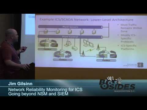 BSides DC 2015 - Network Reliability Monitoring for ICS – Going beyond NSM and SIEM