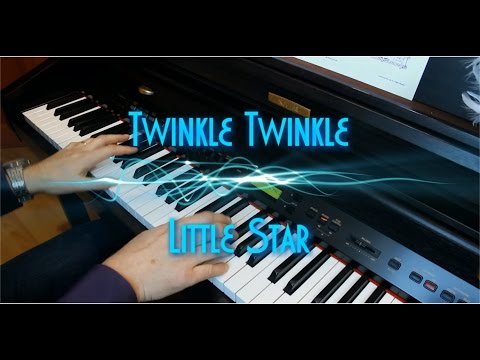 Twinkle Twinkle Little Star - Piano Solo - Revisited - HD