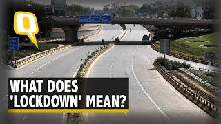 What Does Lockdown Mean For India & What Are Essential Services? | The Quint