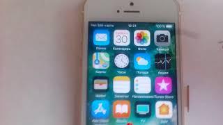 видео iPhone 5s не работает SIM-карта