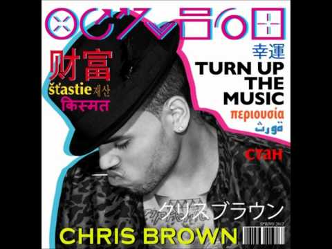 Chris Brown ~ Turn Up The Music [Fortune Album Download] [2012 Single]