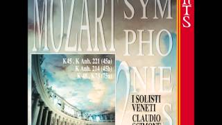 Wolfgang Amadeus Mozart: Symphony K 45 D major; I -Molto allegro