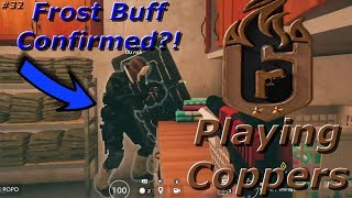 Frost Buff Confirmed?! Road To Copper - Rainbow Six Siege Funny Moments