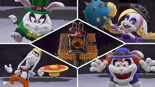 Super Mario Odyssey - Dark Side - All Bosses   No Damage!