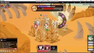 砂漠の魔狐 討伐戦 絶級(ソロエリア) のクリア動画です。 攻撃力がそ...