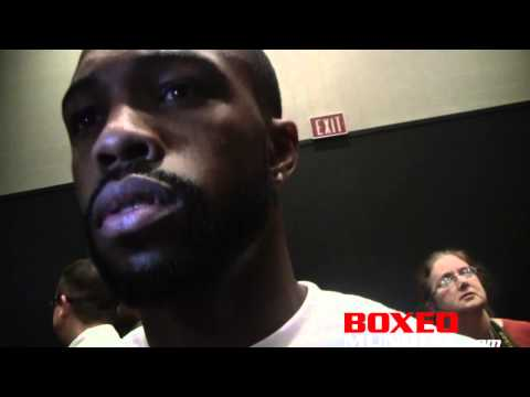 Interview with Gary Russell Jr. after his win over Vyacheslav Gusev