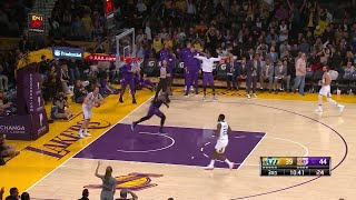 3rd Quarter, One Box Video: Los Angeles Lakers vs. Utah Jazz