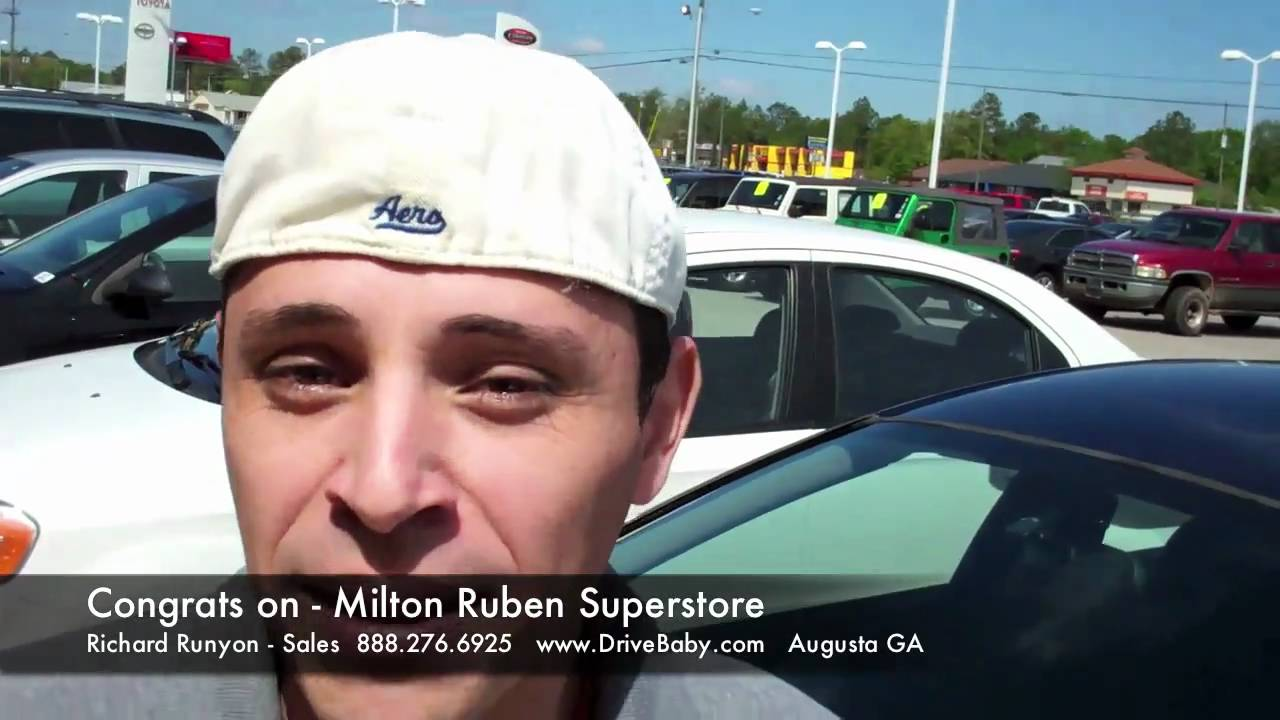 Used Cars Augusta Ga >> April 2011 Testimonial Milton Ruben Superstore New And Used Cars In Augusta Ga