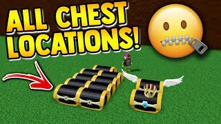 ALL CHEST LOCATIONS!! *NEW UPDATE* | Build a boat for Treasure ROBLOX
