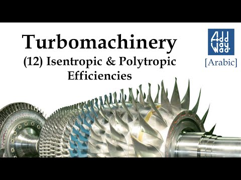 Turbomachinery - (12) Isentropic And Polytropic Efficiencies [Ar]