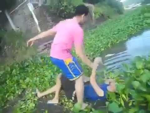 Án mạng kinh hoàng.Bê đê đánh nhau vứt xác trôi sông