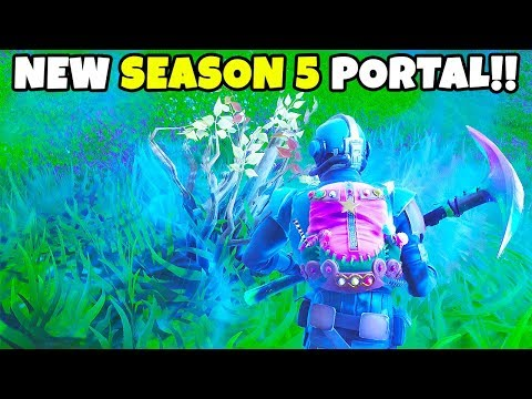 "NEW ""Season 5"" Portal JUST OPENED in Fortnite... 
