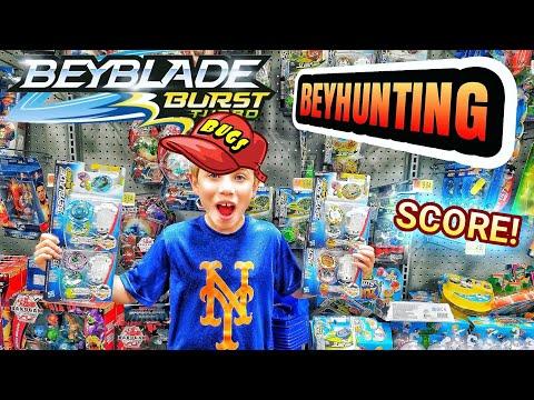 Best Store Yet! Beyblade Burst Toy Hunting At Target & Walmart + Surprise Store - Beyhunting