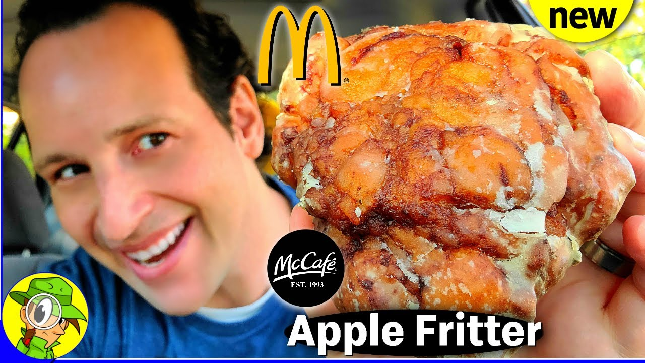 Mcdonald S Apple Fritter Review Mccafe Bakery Peep This Out Youtube