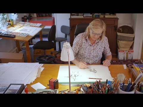 Interviews with Ron Brooks, Alison Lester, Leigh Hobbs and Shaun Tan 2015