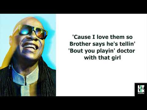 Stevie Wonder - I Wish (Lyrics)