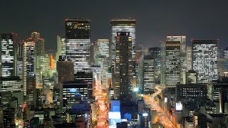 4K Osaka Night View  Timelapse  大阪夜景 ー時空の栞ー