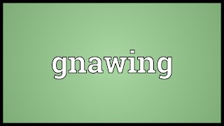 Gnawing Meaning