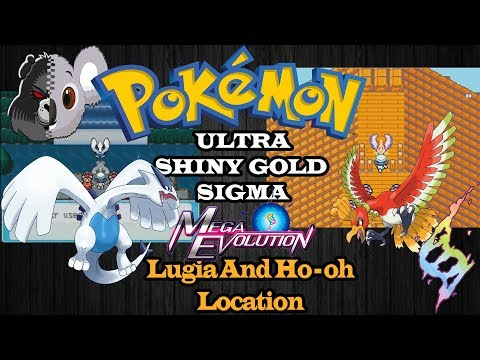 Pokemon Ultra Shiny Gold Sigma - Lugia And Ho-oh