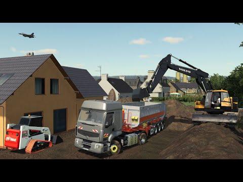 Terrassement Location | Travaux publics | Farming Simulator 19
