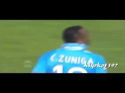 Napoli-Galatasaray 3-1 29-07-2013 Fine Partita Zuniga