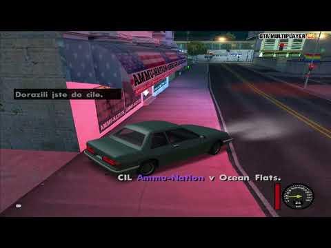 GTA SA:MP | Kuryr a Vykradeni Obchodu
