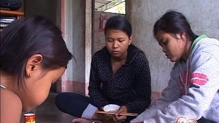 Hoàn cảnh 3 em mồ côi Cha lẫn Mẹ xã phước sơn, Ninh Phước, Ninh Thuận