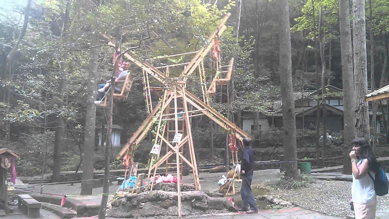 zhangjiajie wood ferris wheel youtube
