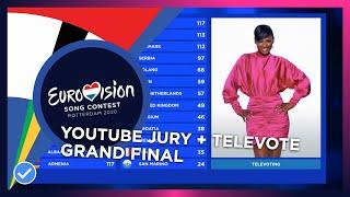 OUR ESC 2020: Grand Final | YOUTUBE JURY + TELEVOTING SIMULATION | Eurovision 2020 🇳🇱