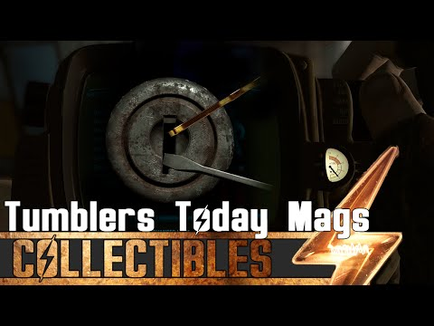Fallout 4 - All Tumblers Today Magazines Locations Guide
