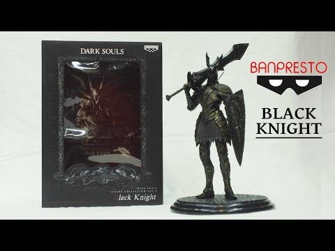 Dark Souls Black Knight Statue By Banpresto Unboxing & Review