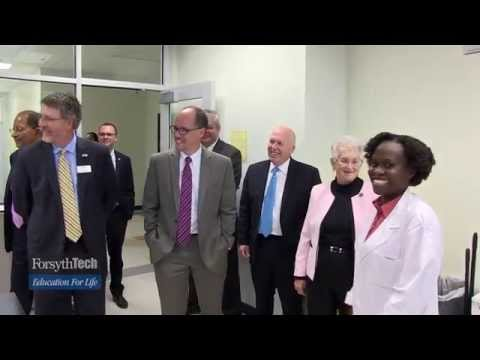 U S  Secretary of Labor Thomas Perez and Rep Virginia Foxx Visit Forsyth Tech