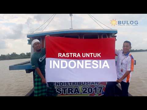 """HUT ke 72 Indonesia Kerja Bersama Perum BULOG Subdivre Kuala Tungkal """"RASTRA Menembus Lautan"""""""
