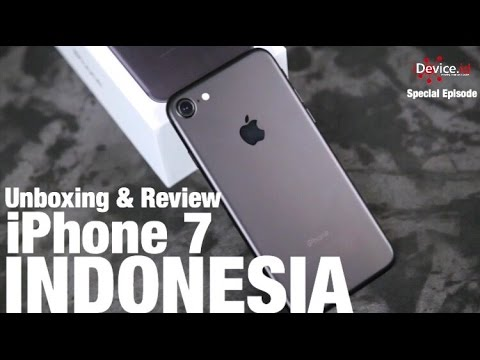 Unboxing & Review iPhone 7 Black – INDONESIA by idevice.id