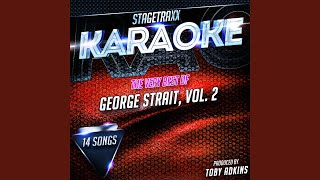 Amarillo By Morning (Karaoke Version) (Originally Performed By George Strait)