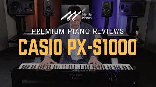 Casio Px S1000 Review Demo Casio Privia Digital Pianos Youtube