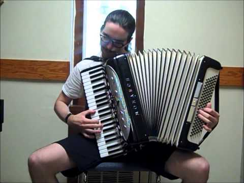 Dragonforce  Through the Fire and Flames accordion