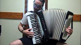 Dragonforce - Through the Fire and Flames [accordion cover]
