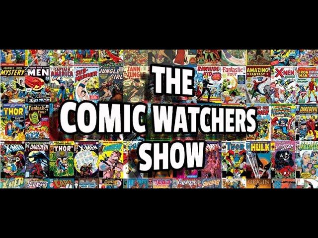 The Comic Watchers Show e121: BEHOLD #THESNYDERCUT