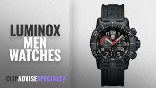 10 Best Selling Luminox Men Watches [2018 ]: Luminox Authorized for Navy Use (A.N.U.) Chronograph