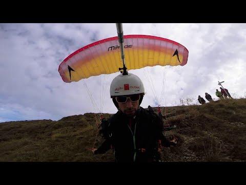 Manuel Nübel Extreme low proximity Speedflying
