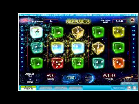Another Great Pokie Machine - Astro Dice - Free Spins