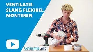 Hoe monteer ik een FLEXIBELE VENTILATIESLANG? | Ventilatieland.nl