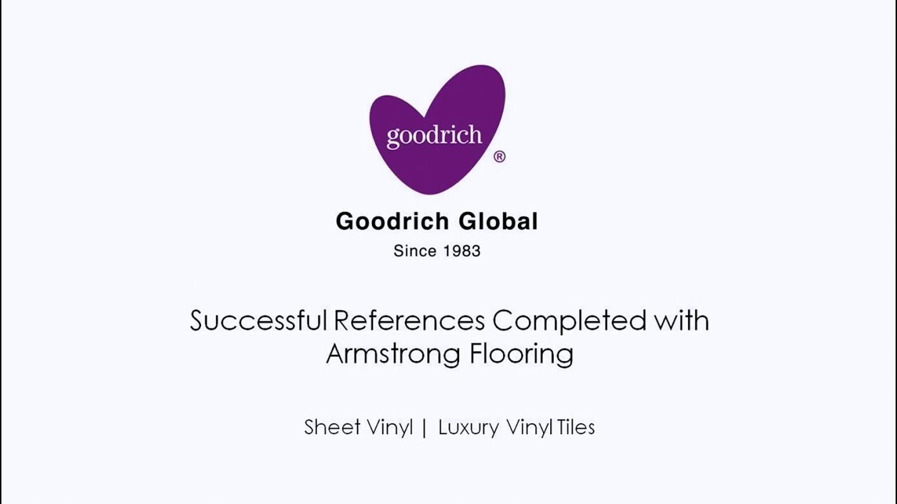 Goodrich Global Armstrong Flooring Successful Project References