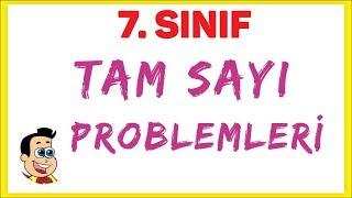 7. Sınıf Tam Sayı Problemleri Şenol Hoca Matematik