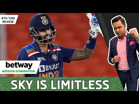 SURYAKUMAR on FIRE | IND LEVEL Series | 4TH T20I Review | Betway Mission Domination | Aakash CHOPRA