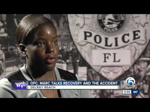Delray Beach Police Department Officer Marc talks recovery and the accident