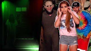 Kim y Jaime visitan una casa de terror y todo se sale de control