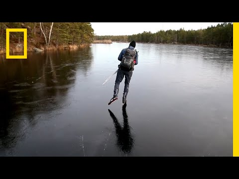 Hear the Otherworldly Sounds of Skating on Thin Ice | Nation