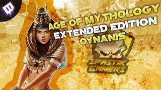 BABANNESİNİ ESİR ALMIŞIM GİBİ SALDIRIYOR / Age Of Mythology Extended Edition : Türkçe Multiplayer